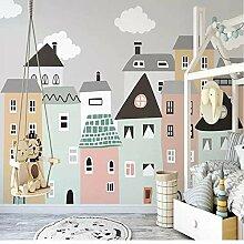Wandbild Tapete Für Kinderzimmer Handgemalte