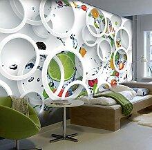 Wandbild Tapete Moderne Abstrakte Kunst 3D