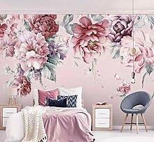 Wandbild Tapete moderne pastorale Blumen