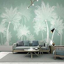 Wandbild Tapete Nordic Abstrakte Kunst 3D Pflanze