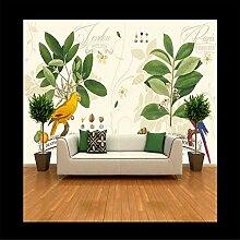 Wandbild Tapeten Wandtattooshandgemalte Botanische