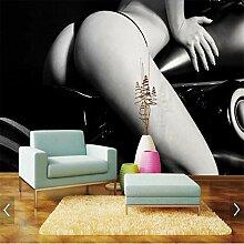 Wandbild Tapeten Wandtattoosmotorrad Sex Mädchen