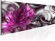 Wandbild - Violettfarbene Tiefe