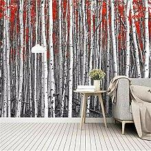 Wandbild, Wandbild, Wald, idyllische Landschaft,