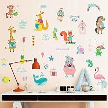 Wandbild ZOZOSO Aufkleber Für Tiere, Cartoon,