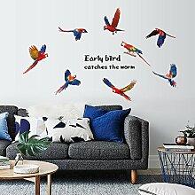 Wandbild ZOZOSO Lerche, Schlafzimmer, Wohnzimmer,