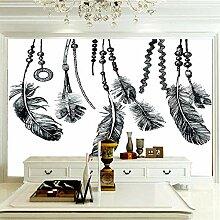 Wandbilder Für Wohnzimmer 200×140 cm -Schwarze