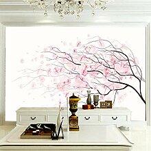 Wandbilder Für Wohnzimmer 300×210 cm -Rosa