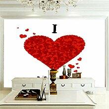 Wandbilder Für Wohnzimmer 300×210 cm -Rotes