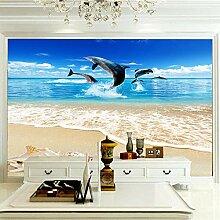 Wandbilder Für Wohnzimmer 300×210 cm -Seeblauer