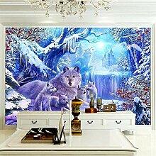 Wandbilder Für Wohnzimmer 300×210 cm -Waldtier