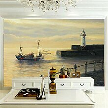 Wandbilder Für Wohnzimmer 400×280 cm -Seeschiff-