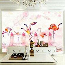 Wandbilder Für Wohnzimmer 400×280 cm -Tierroter