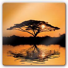 Wandbilder - Glasbild Afrika