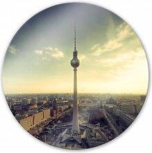 Wandbilder - Glasbild Berliner Fernsehturm