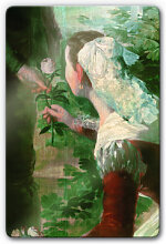 Wandbilder - Glasbild de Goya - Der Frühling
