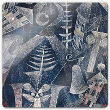 Wandbilder - Glasbild Klee - Die Glocke