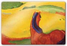Wandbilder - Glasbild Marc - Pferd in der