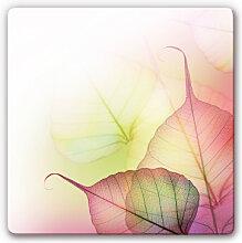 Wandbilder - Glasbild Pink Design