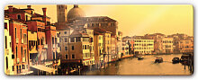 Wandbilder - Glasbild Venedig - Panorama