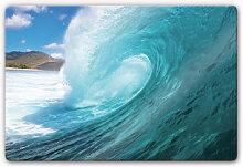 Wandbilder - Glasbild Welle