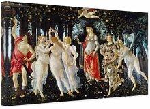 Wandbilder - Leinwandbild Botticelli - Der Frühling