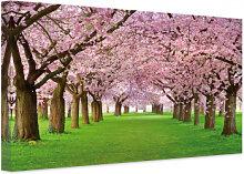 Wandbilder - Leinwandbild Frühling