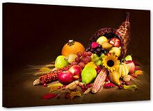 Wandbilder - Leinwandbild Herbst im Füllhorn