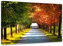 Wandbilder - Leinwandbild Herbst