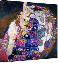 Wandbilder - Leinwandbild Klimt - Die Jungfrau