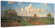 Wandbilder - Leinwandbild Pissarro - Frühling