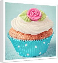 Wandbilder - Leinwandbild Sweet Cupcake - quadratisch