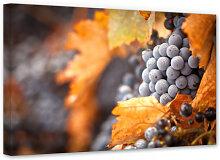Wandbilder - Leinwandbild Wein im Herbst