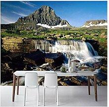 Wandbilder Moderne 3D Wasser Landschaft Wasserfall