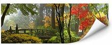 Wandbilder - Wallprint W - Japanischer Garten