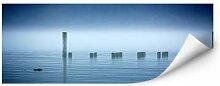 Wandbilder - Wallprint W - Nebelbank - Panorama