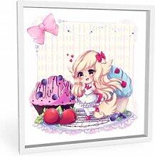 Wandbilder - Wandbild La Doll Blanche - Chibi Belle