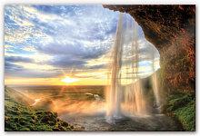 Wandbilder - XXL Wandbild Seljalandsfoss Wasserfall