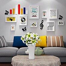 Wandbilderrahmen Mehrere Fotos, College-Rahmen -