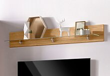 Wandboard Denis 140x17x20 cm beige Wandboards