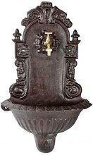 Wandbrunnen Royal, Waschbecken, inkl. Messinghahn,