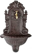 Wandbrunnen Royal, Waschbecken, mit Messinghahn,