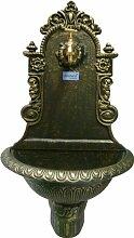 Wandbrunnen TIROL grün/gold
