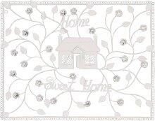 Wanddeko, Wandbild HOME SWEET HOME L. 56cm H. 44cm weiß Clayre & Eef (24,95 EUR / Stück)