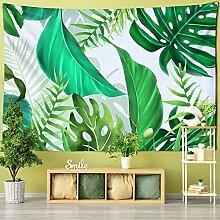 Wanddeko wandteppich Grünes Blatt Pflanze
