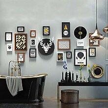 Wanddekor Bilderrahmen 17-teiliges Set mit