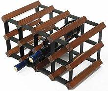 Wanddekoration Anwendung 6 Flasche Weinregal -