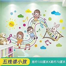 Wanddekoration Cartoon Aufkleber Kinderzimmer
