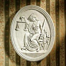 Wanddekoration Justitia Design Toscano