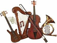 Wanddekoration Musikinstrumente